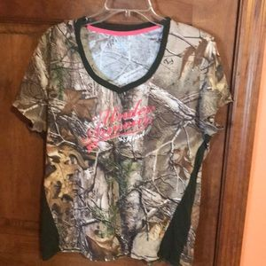 Cute under armor hunt T-shirt camouflage